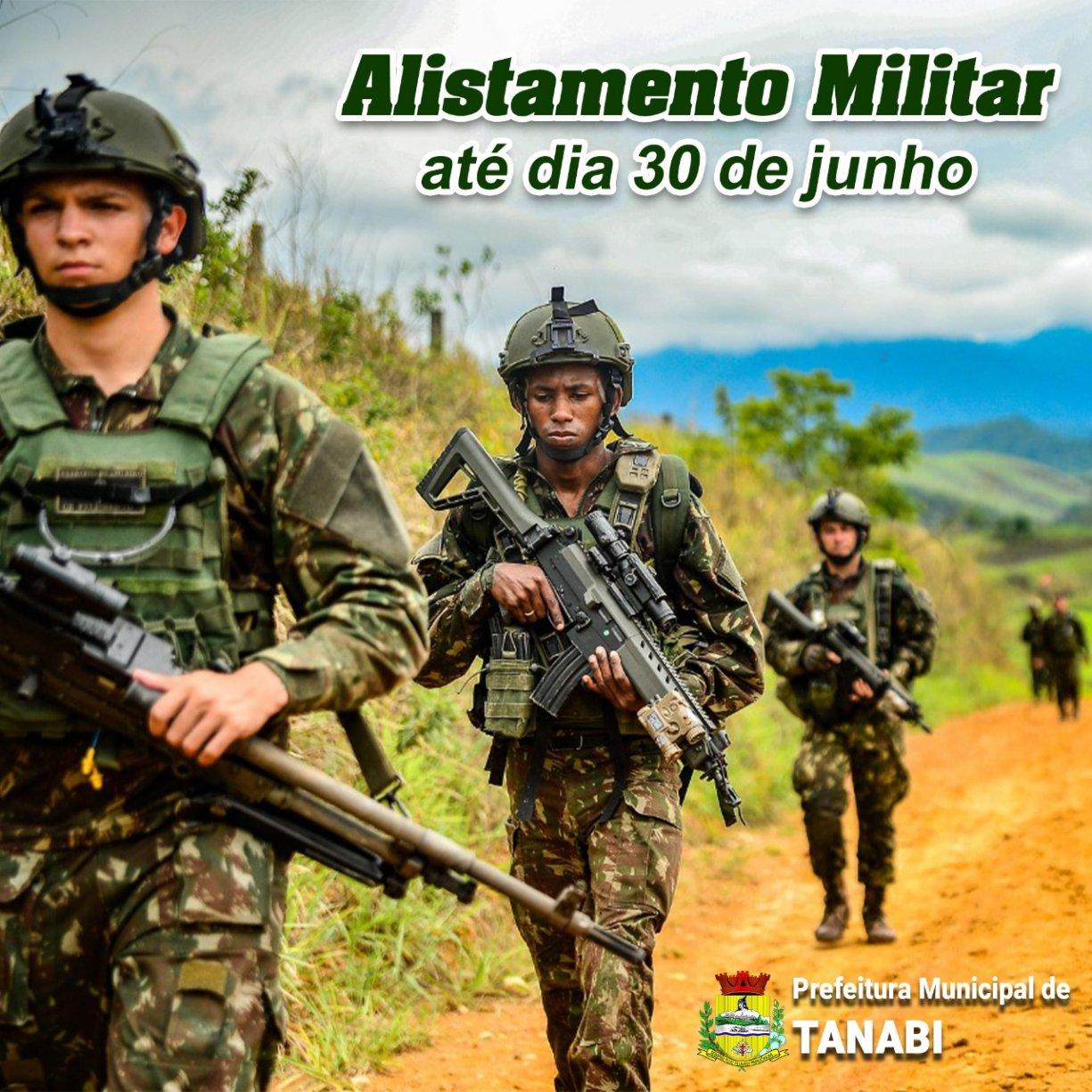 Alistamento Militar para nascidos em 2003 termina no dia 30 de junho