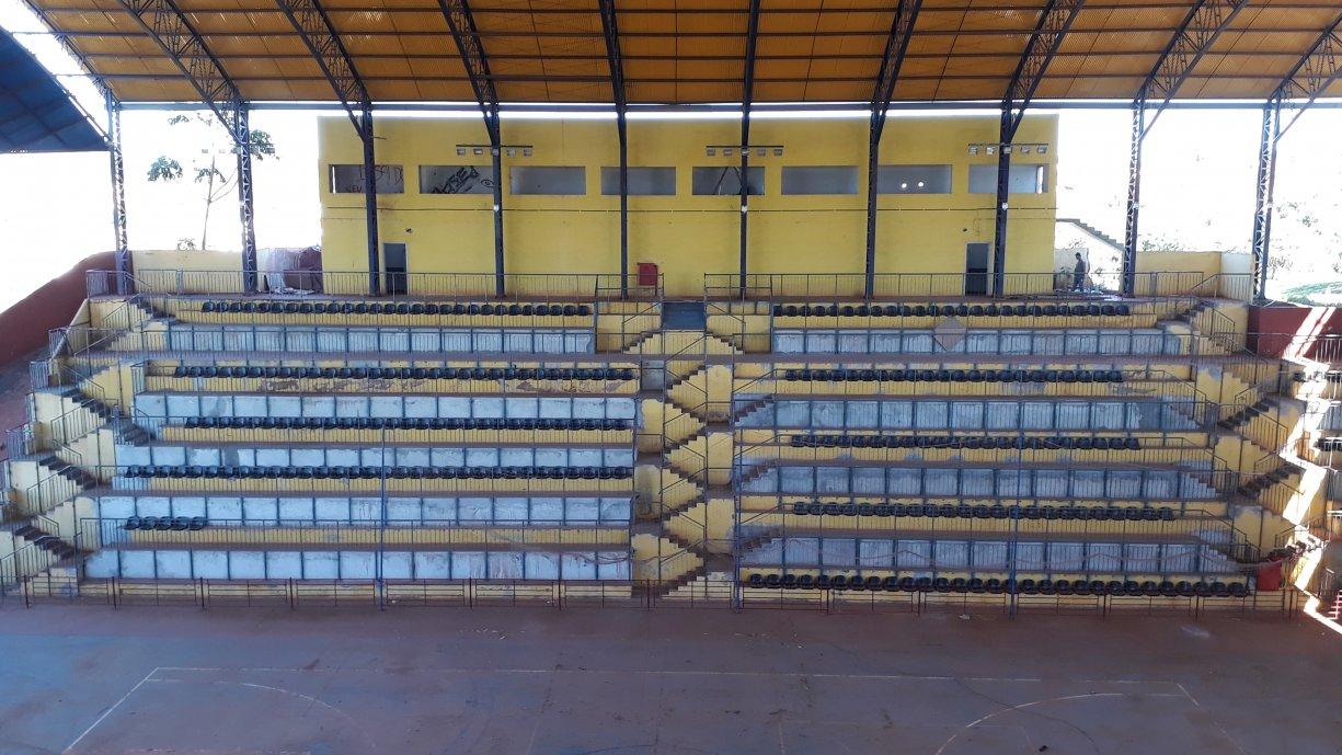 OBRAS: Ginásio de Esportes Luiz Antônio Lopes