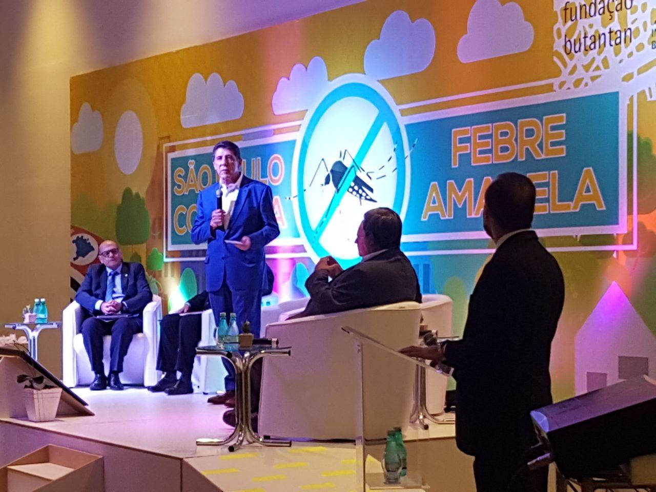 """Secretaria da Saúde de Tanabi participou do simpósio """"SP no Enfrentamento da Febre Amarela"""""""