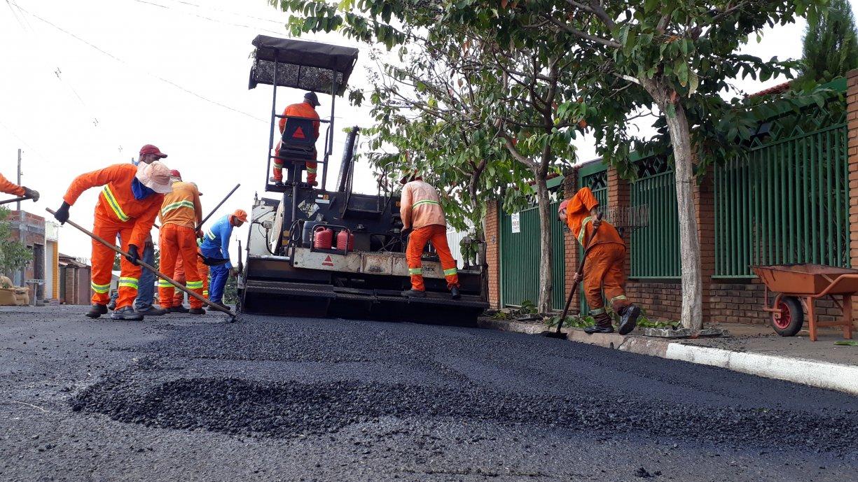 Com um investimento de mais de R$ 1,5 milhão Prefeitura realiza nos próximos dias recape asfáltico em diversas ruas de Tanabi