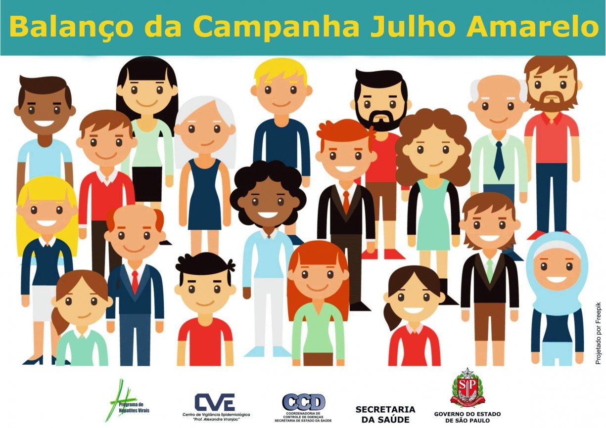 """Saúde divulga balanço do """"Julho Amarelo"""": Mês de combate as Hepatites Virais"""